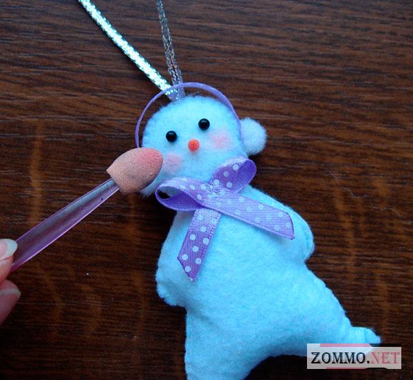 Румянец для снеговика