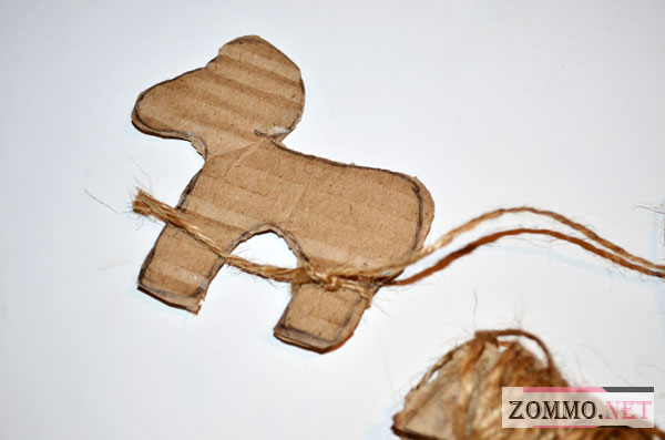 Елочная игрушка барашек
