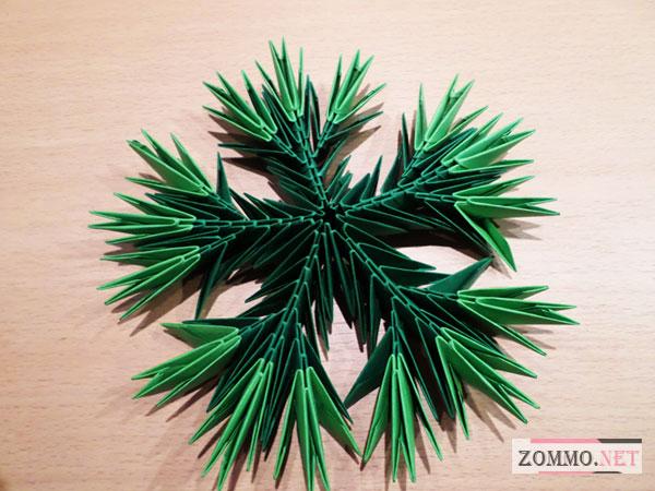 Большие оригами модули