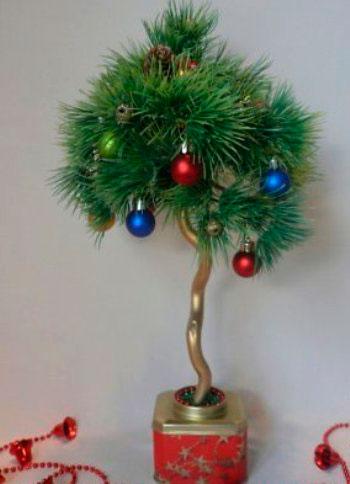 Елочное дерево счастья