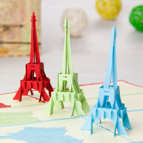 Эйфелева башня оригами
