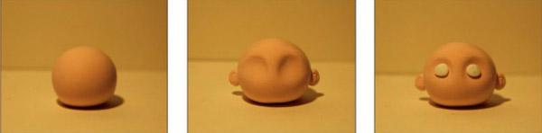 Голова из пластилина