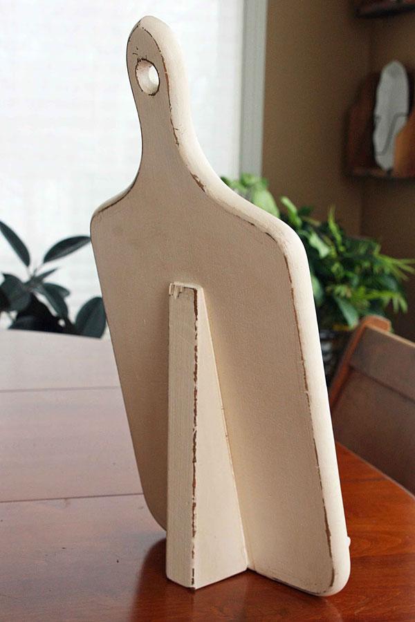 Винтажная подставка вид сзади
