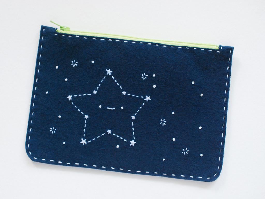 Косметичка со звездами