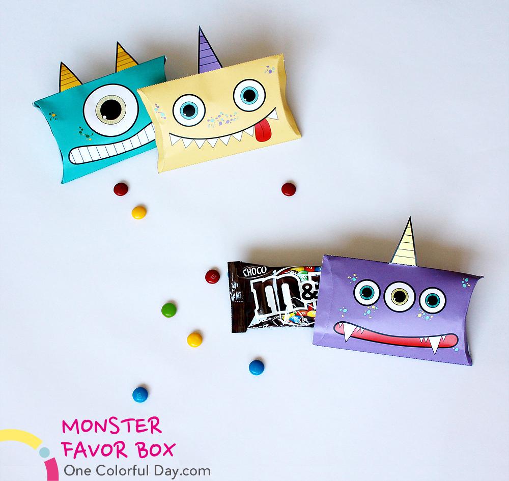 Подарочные коробочки в виде монстров