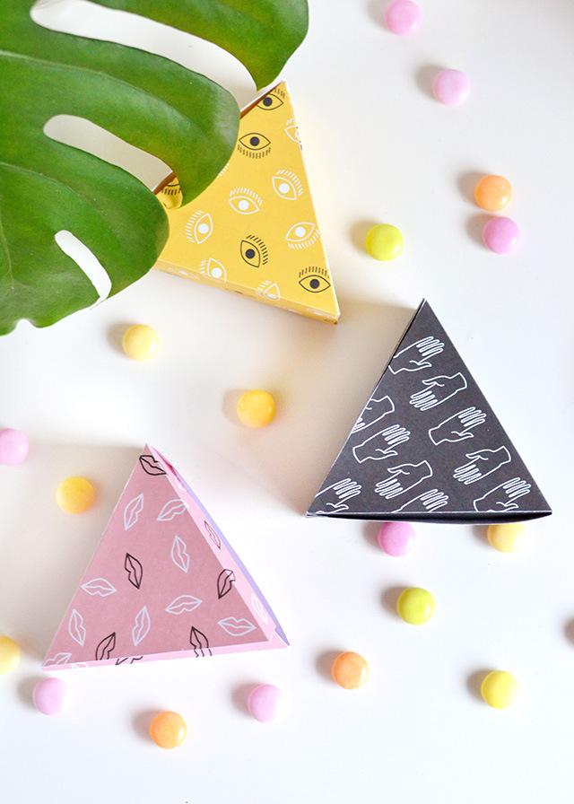 Коробочки и конфеты