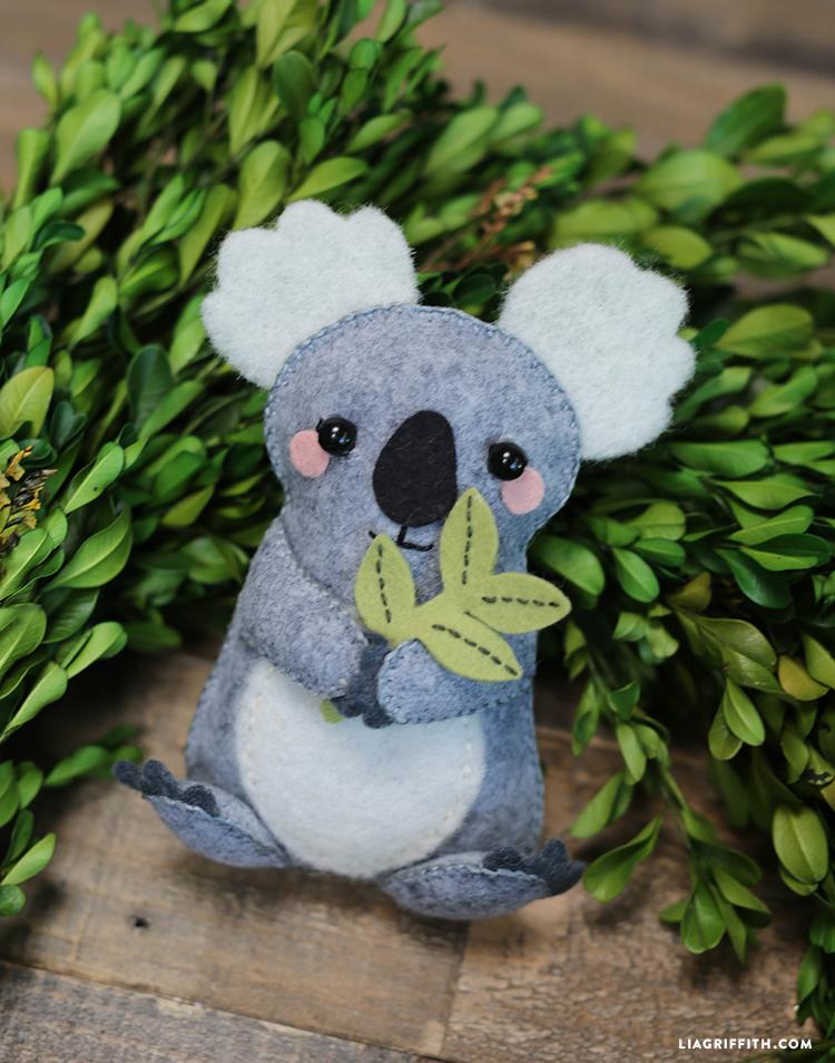 Фетровая коала