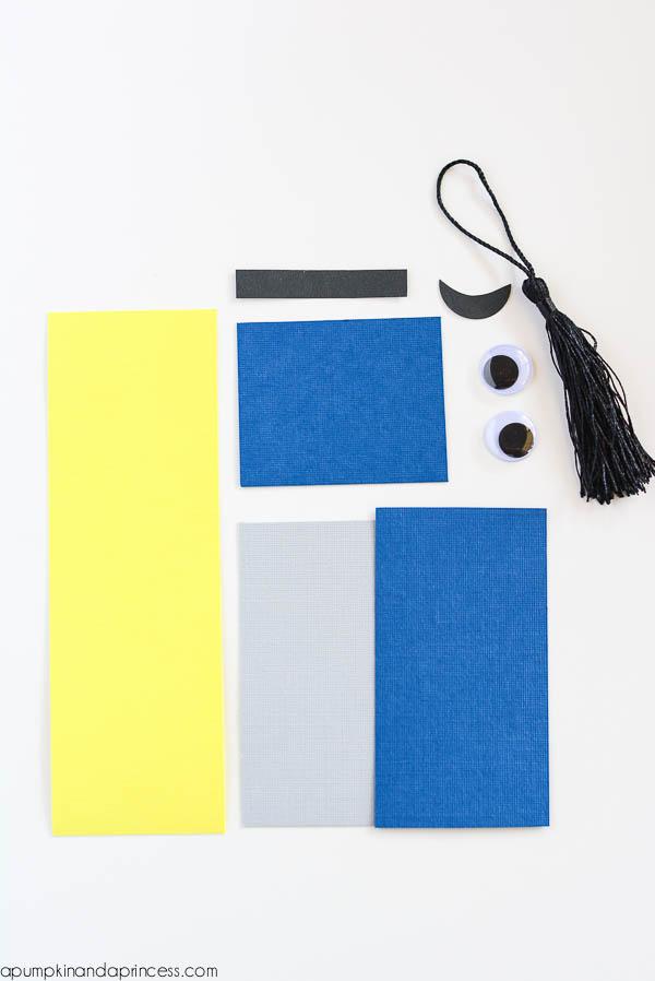 Материалы для создания закладки