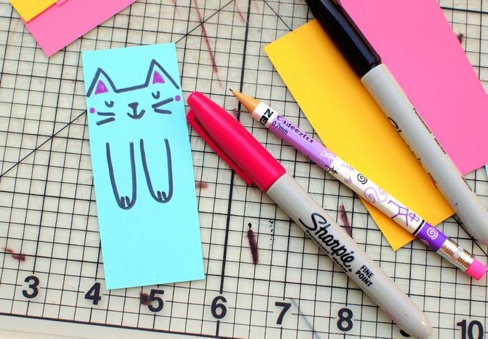 Закладки котики