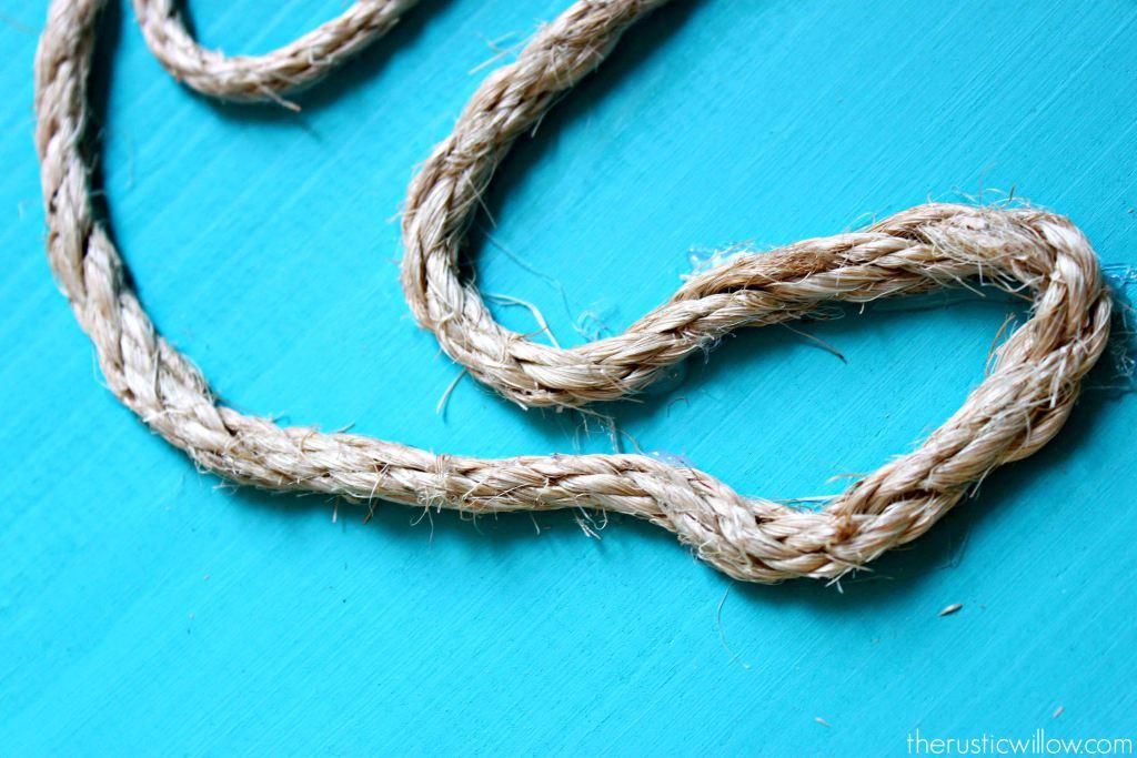 Якорь из веревки