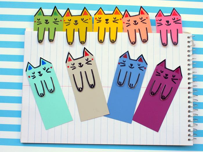Котики - закладки