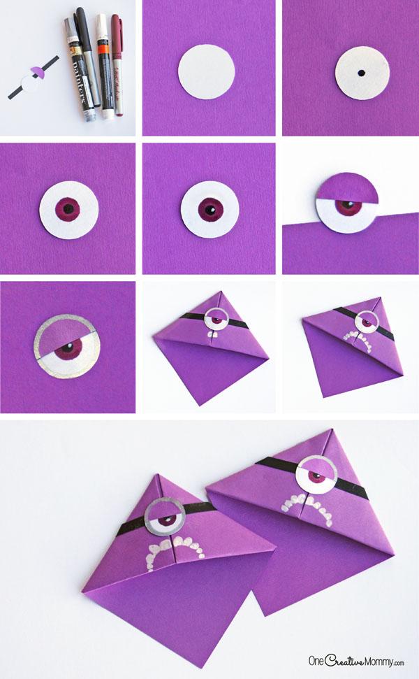 Как сделать миньонов своими руками из бумаги