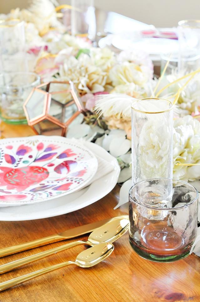 цветочная дорожка для стола 10