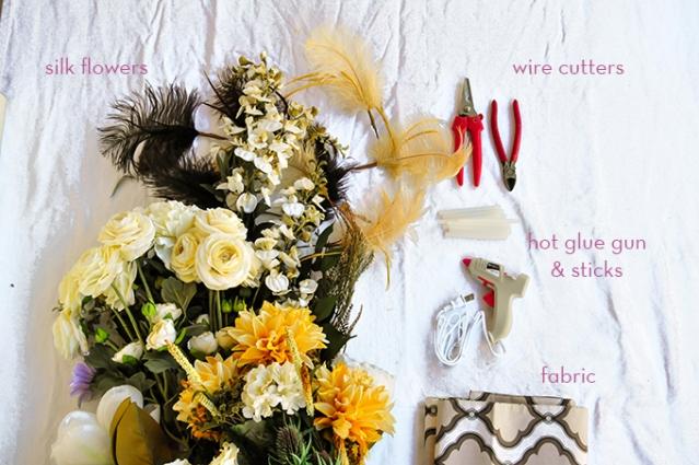 цветочная дорожка для стола 1
