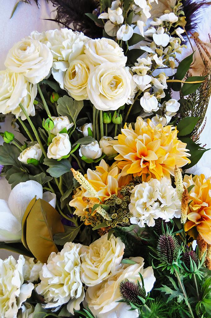 цветочная дорожка для стола 4