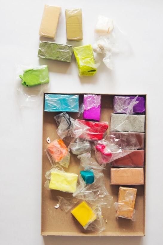 Игрушки из полимерной глины 1