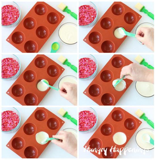 Шоколадный десерт для влюблённых 3