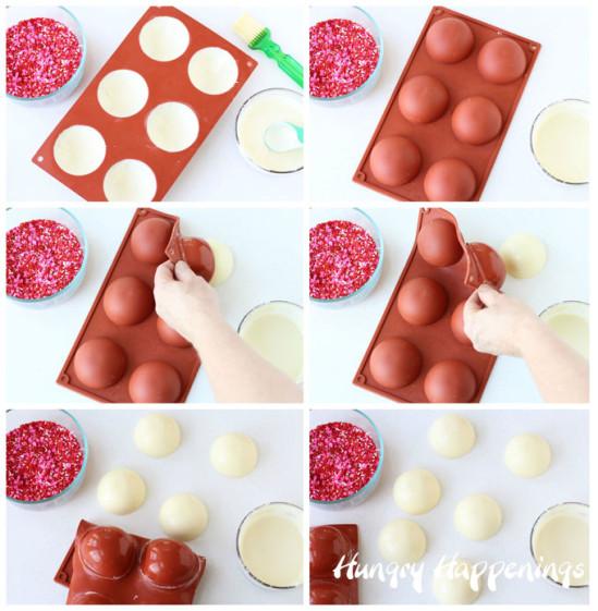 Шоколадный десерт для влюблённых 4