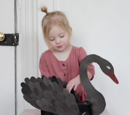 Коробка для мелочей Чёрный лебедь 2