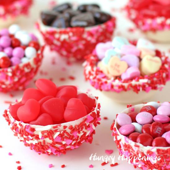 Десерт из шоколада для влюблённых