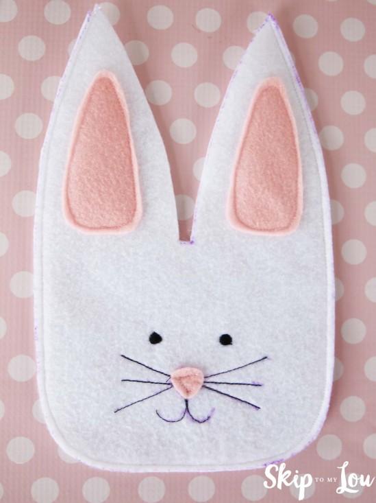 Фетровый кролик 6