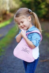 Детская сумочка в виде кролика