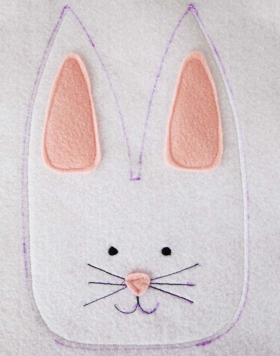 Фетровый кролик 5