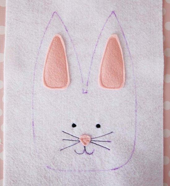 Фетровый кролик 4