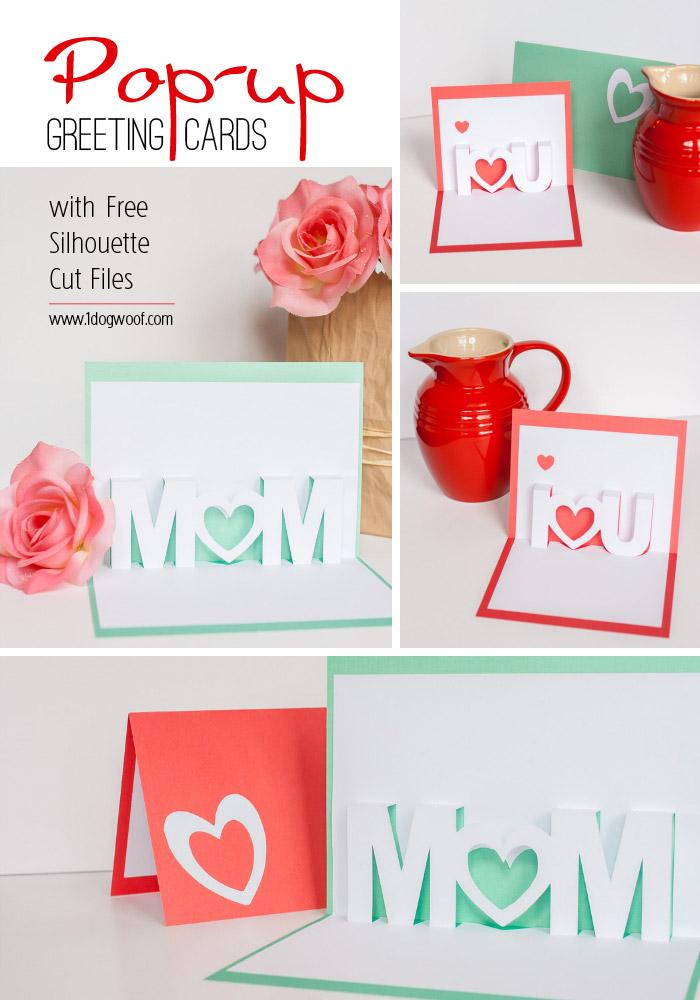 Примеры объемной открытки для мамы