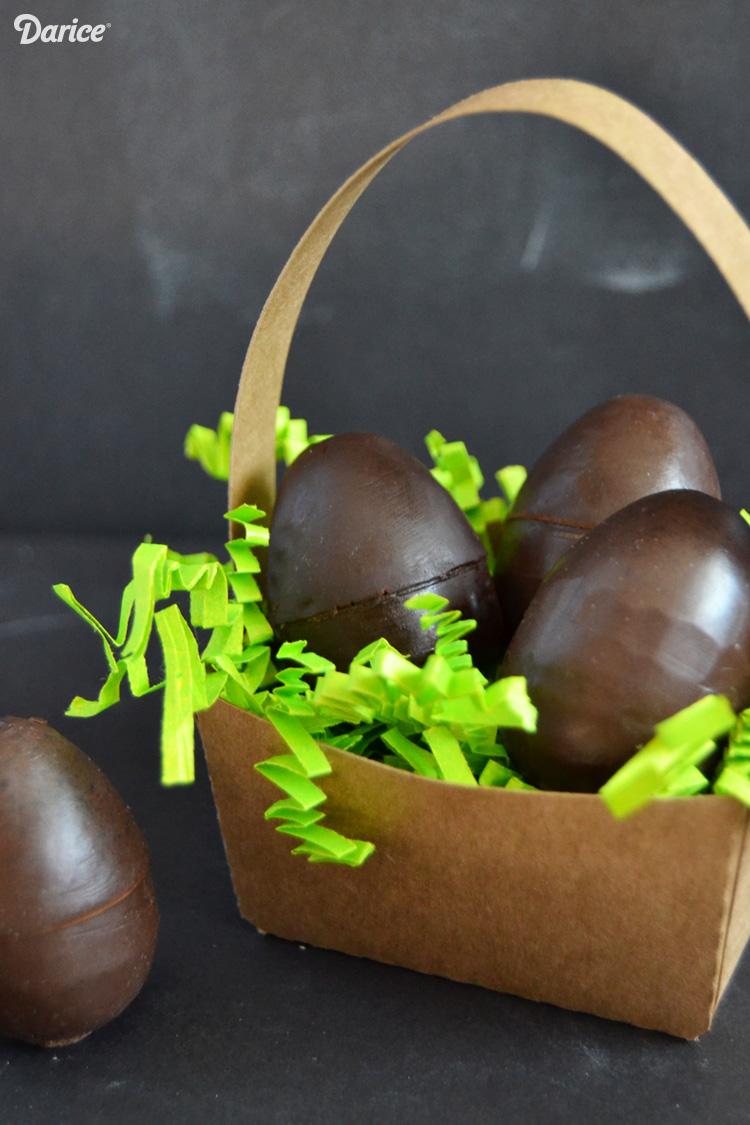 шоколадное мыло в виде пасхальных яиц