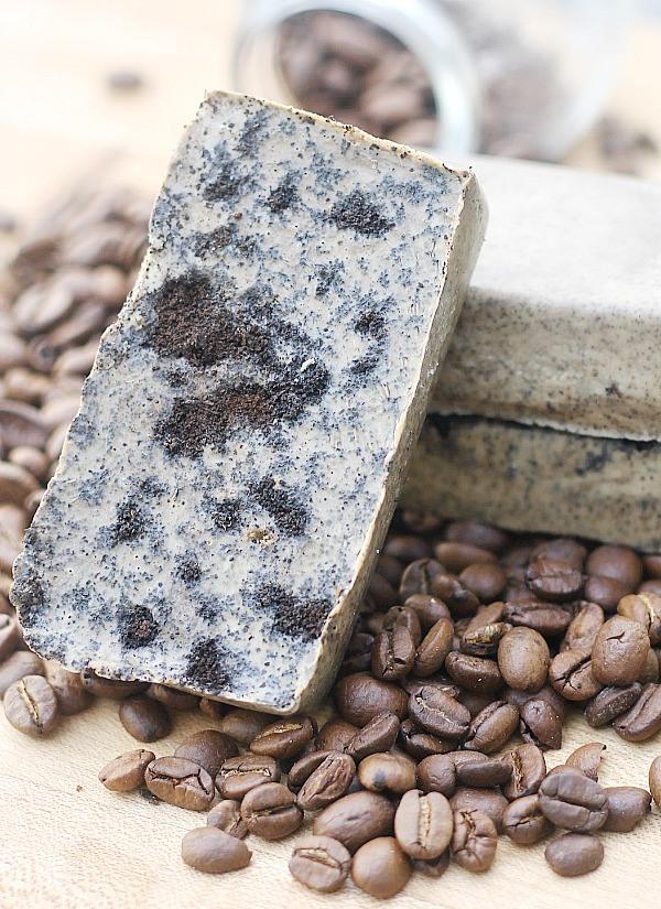 кофейно-имбирное мыло-скраб своими руками