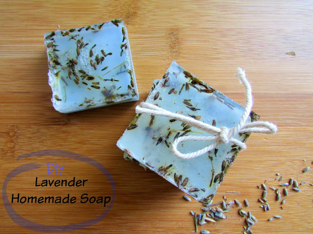 Глицериновое мыло с лавандой