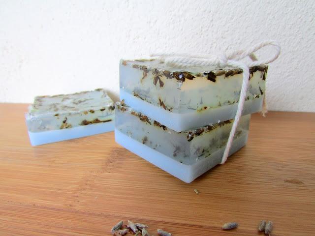 глицериновое мыло с лавандой своим руками