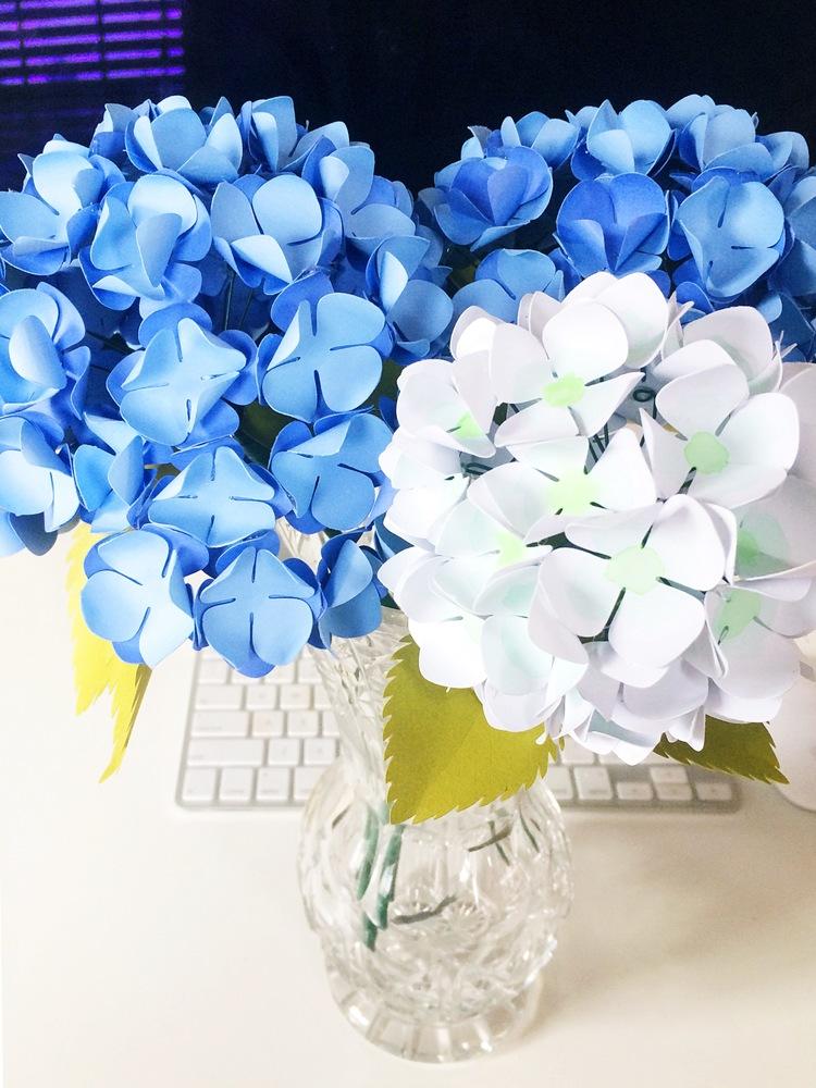 Цветы гортензия своими руками