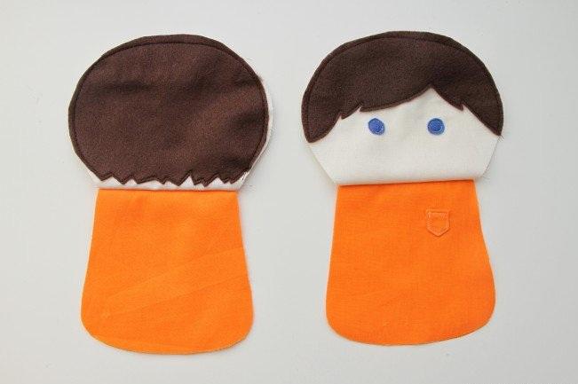 Кукла из лоскутков-12
