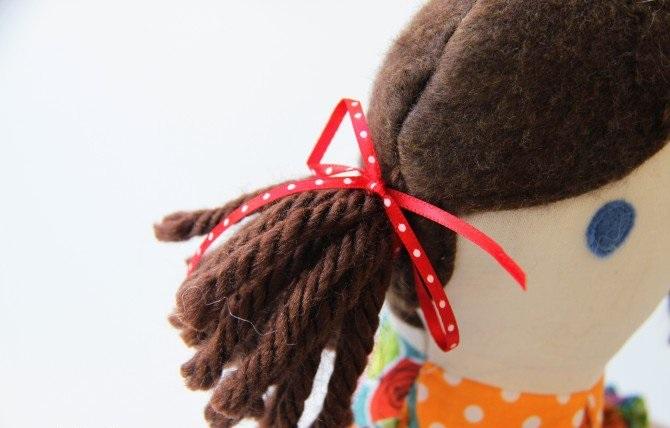 Кукла из лоскутков-25
