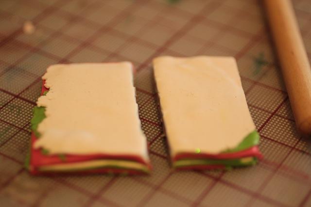 Кулон из полимерной глины-разрежьте слои