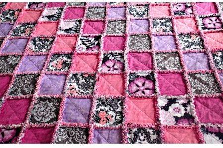 Лоскутное фланелевое одеяло своими руками