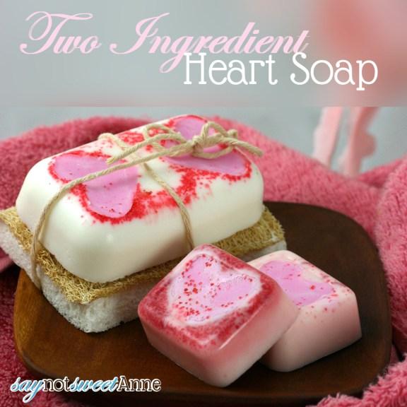 Мыло с сердечком своими руками