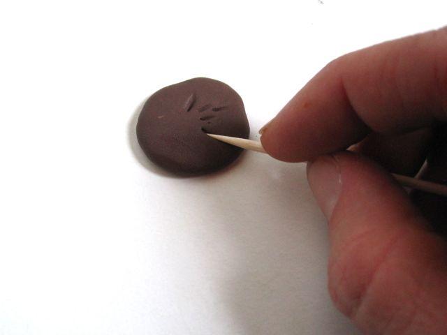 Подсолнухи из полимерной глины-делаем семечки