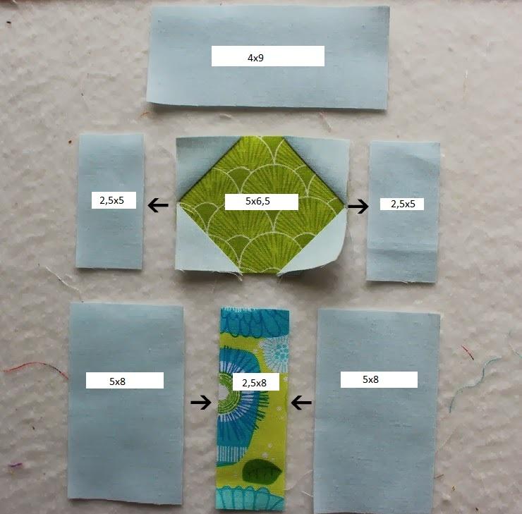 очередной этап изготовления салфетки
