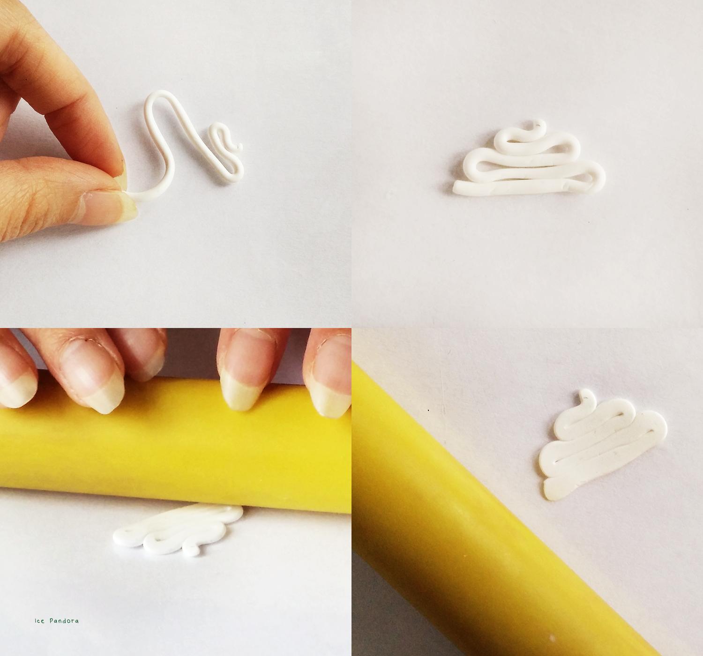 Брошь из полимерной глины-сделайте пенку