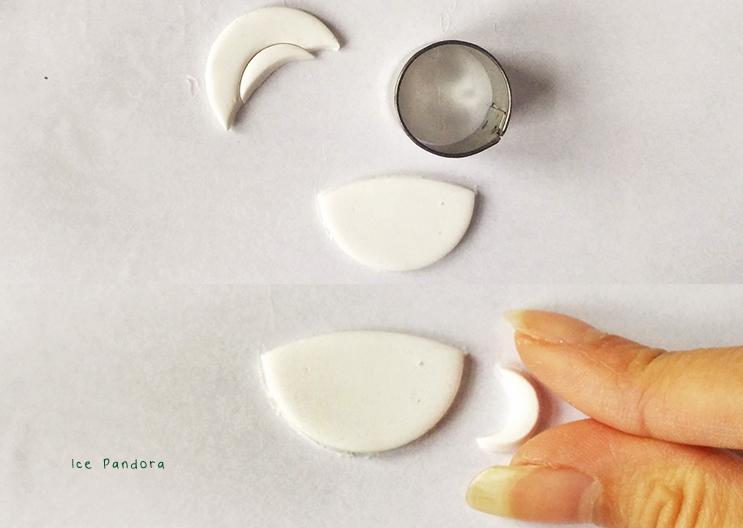 Брошь из полимерной глины-приделайте ручку к чашке