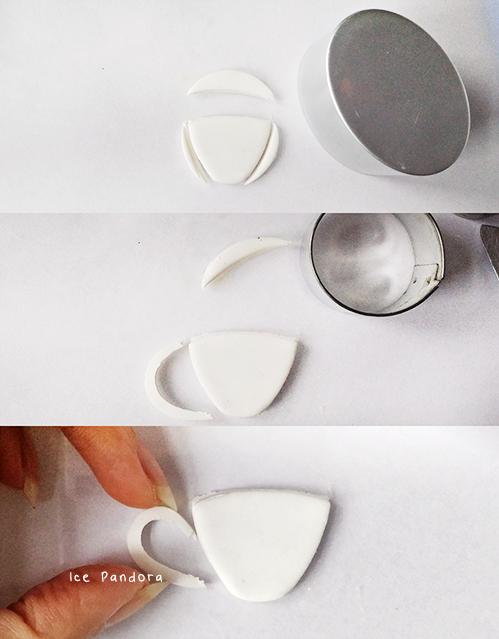 Брошь из полимерной глины-сделайте чашечку