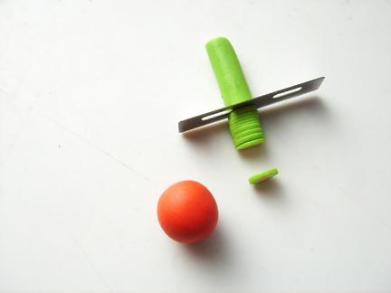 Бусины миллефиори-нарежьте ломтики