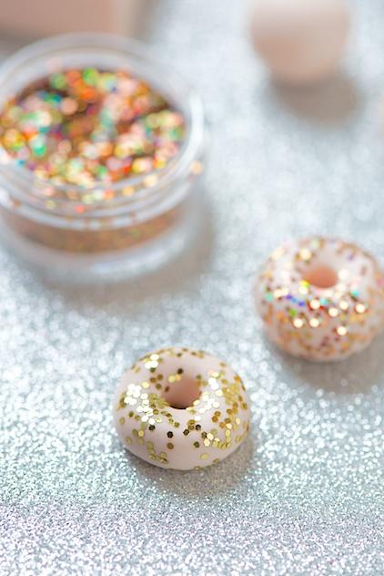 Бусы из полимерной глины-добавьте блеска