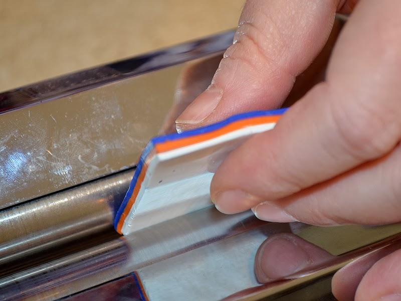 Как украсить крючок-пропустите слои через паст-машину