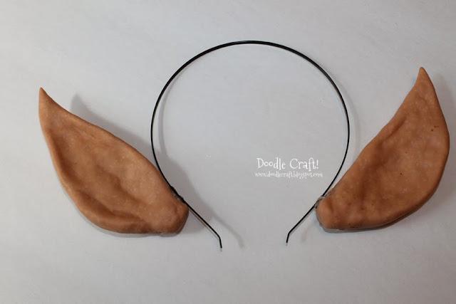 Как сделать эльфийские уши из полимерной глины?