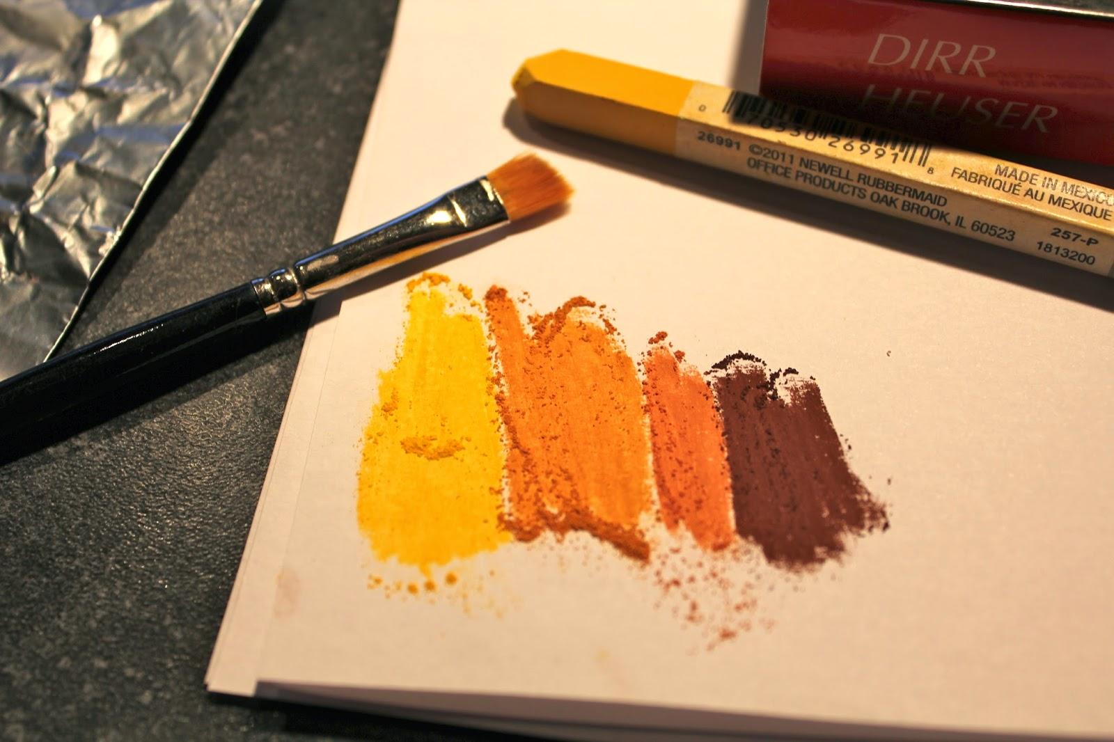 Еда из полимерной глины-натрите пастель