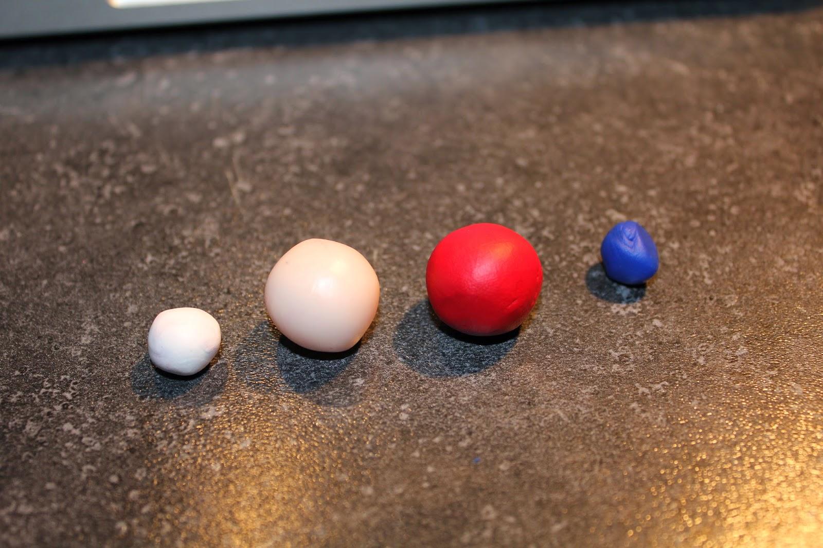 Еда из полимерной глины-подготовьте глину